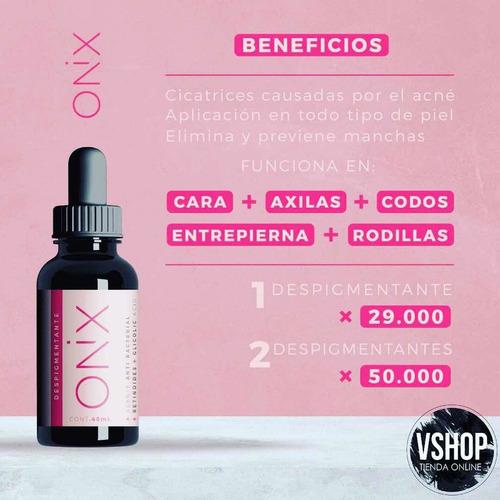 Despigmentante Ónix X 2 Elimina Mancha - mL a $625