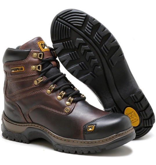 Bota Caterpillar Marron +billetera +cinturon Talle Unico 39
