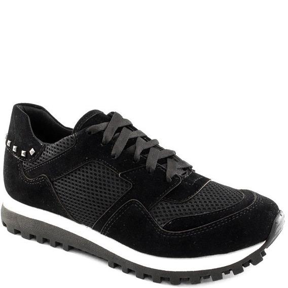 Tênis Sneaker Feminino Camurça Sapato Show 16240