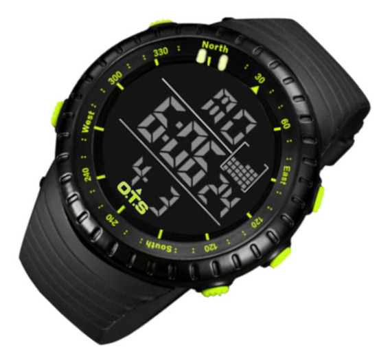 Relógio Masculin Ots 7005 Res Água P/a Super Promo 12 Vezes