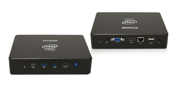 Computador Intel Box Pc Quad Core J3455 4gb/ssd32g Windows 10 Pro Mitsushiba