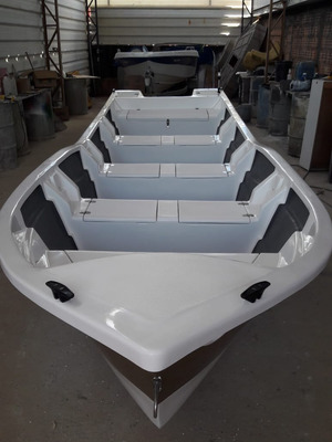 Barco Bote Fibra Pesca 6,30 Mt Artsol 40 Anos Fabrica