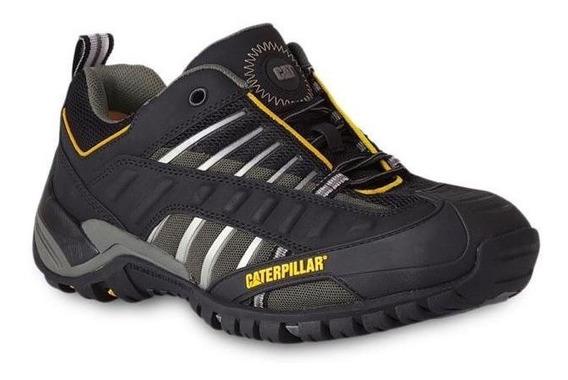 Zapato Caterpillar Versa Negro Gris Super Precio!!