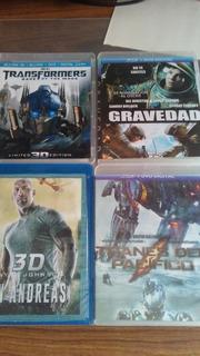 Películas 3d Bluray