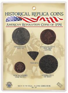 Monedas De La Revolucion Americana De 1776