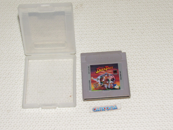 Duck Tales Original Game Boy Com Capa Plástica