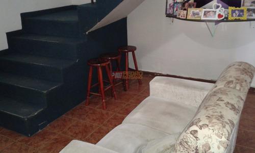 Sobrado  No Bairro Vila Palmares Em Santo Andre Com 02 Dormitorios - V-27161