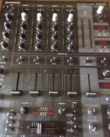 Mixer Profissional Djx 750 Behringer - Semi Novo