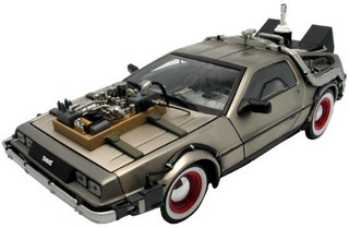 Delorean 1:18 1982 Delorean Regreso Al Futuro Modelo D...