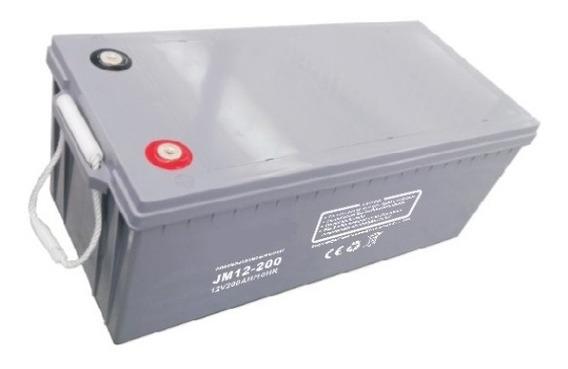 Bateria Agm Gel 12v 200ah Solar Ups Ciclo Profundo
