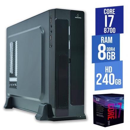 Computador Concordia - Sff Core I7 16gb Ddr4 Hd 1tb