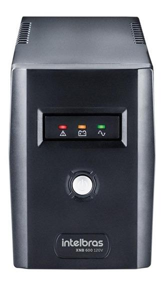 Nobreak Intelbras Xnb 600va 4 Tomadas Entrada/saída 110v