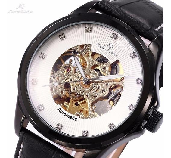 Relógio Skeleto Autom Kronen & Sohne Royal Skeleton Original