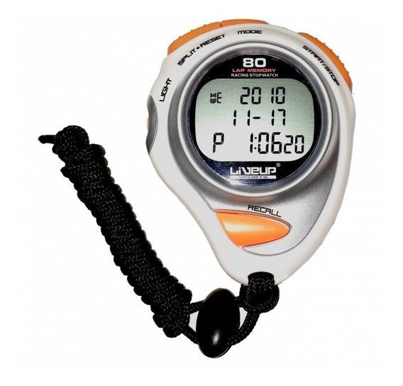 Cronômetro Digital Liveup Ls3347 Com Alarme Relógio 80 Lap
