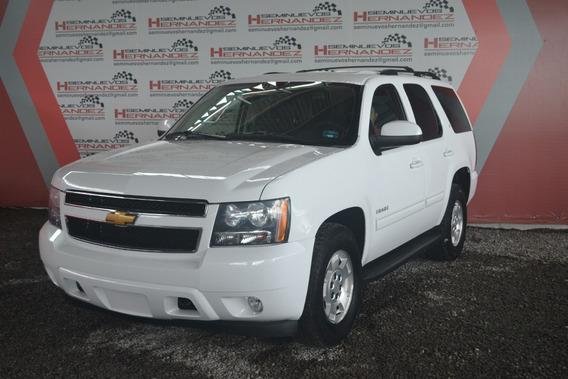 Chevrolet Tahoe 2013 5.3 C Piel Dvd Blanco.