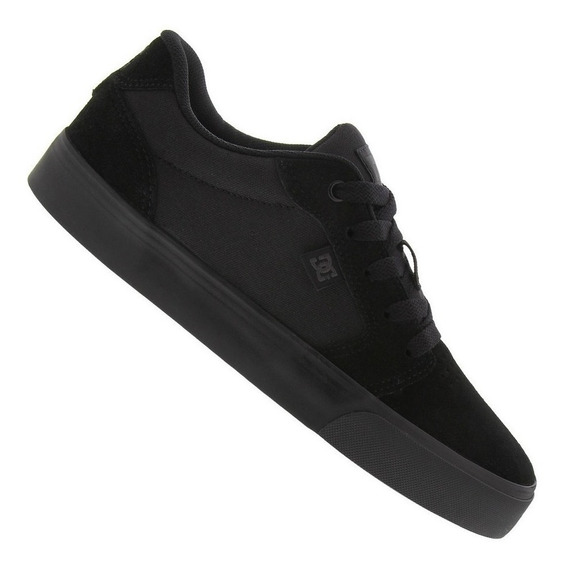 Tênis Dc Shoes Anvil La Black/black/black I Star Point