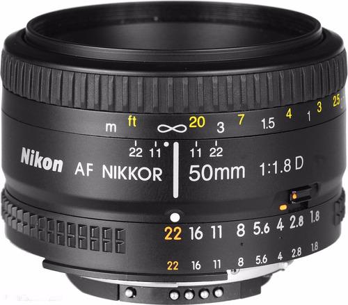 Lente Nikon 50mm F/1.8d 100% Original Nuevo