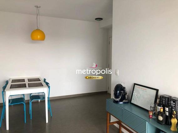 Apartamento À Venda, 63 M² Por R$ 400.000,00 - Fundação - São Caetano Do Sul/sp - Ap2216
