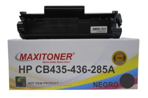Imagen 1 de 3 de Cb435a Toner Hp Laserjet 1005/1006/p1102w/m1130/1210mfp