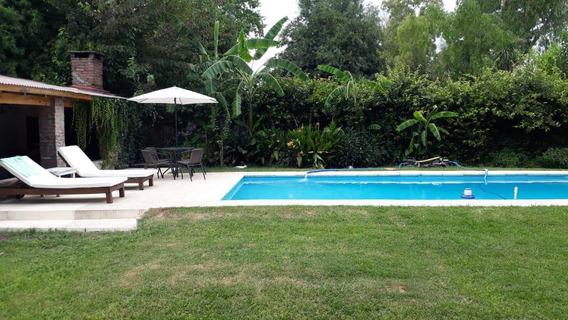 Casa 4 Amb Con Cochera Pasante Parque Quincho Y Piscina Del Viso Pilar