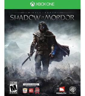 Juegos Shadow Of Mordor Xbox One Usado