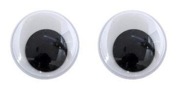 Ojos Moviles Ojitos Tamaño Numero 15 X 100