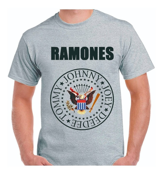 Remera Ramones -los Ramones - The Ramones Rock -punk - Rock
