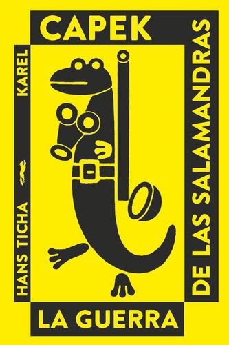 Imagen 1 de 3 de Guerra De Las Salamandras, Karel Capek, Ed. Zorro Rojo