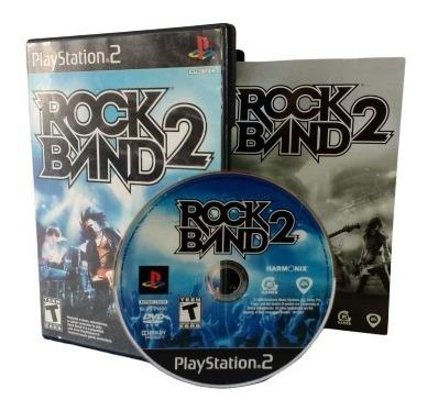 Rock Band 2 Playstation 2 Mídia Física