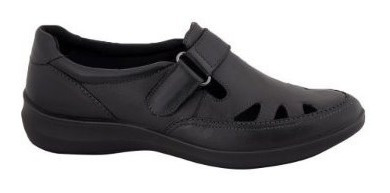 Zapato Flexi Dama Pie Diabetico Cofort Al Maximo 100 % Piel