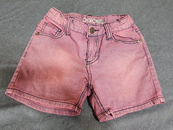 Short Cherokee Importado Talle S P/nena C/cintura Ajustable