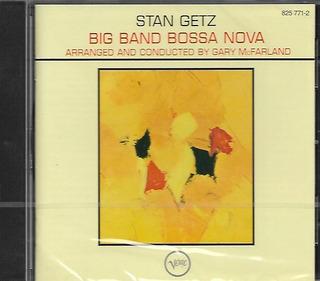 Cd Stan Getz Big Band Bossa Nova - Novo - Frete R$15
