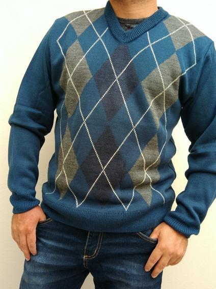 Blusa Masculina M Losango Oferta Escocês Promoção