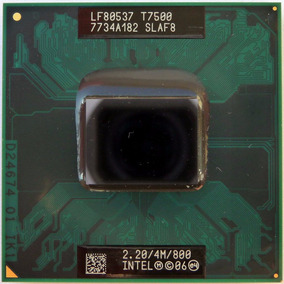 Processador Notebook Intel Core 2 Duo T7500 2,20ghz Slaf8