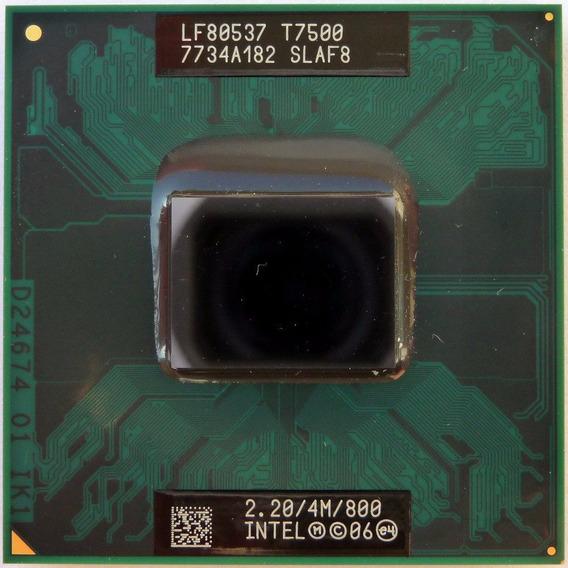 Processador Notebook Intel Core 2 Duo T7500 2,20ghz Slaf8