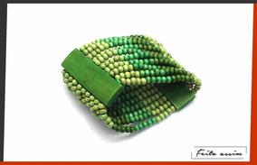 Pulseira Elástica Madeira Verde (unidade)