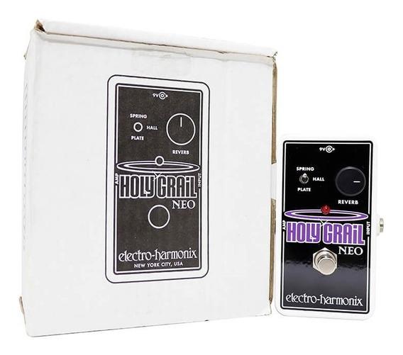 Pedal Electro Harmonix Holy Grail Neo Reverb Original +fonte