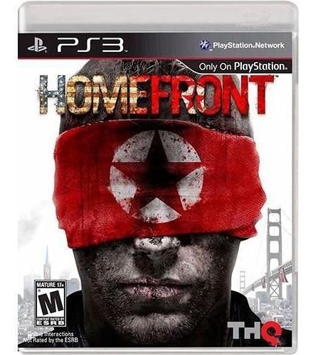 Jogo Homefront Playstation 3 Ps3 Mídia Física