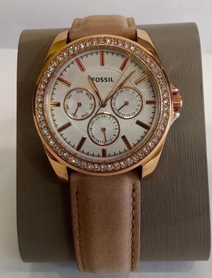 Relógio Feminino Fossil Bqx3382 Original