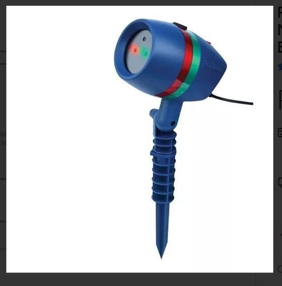 Projetor A Laser Com Efeitos Natalinos