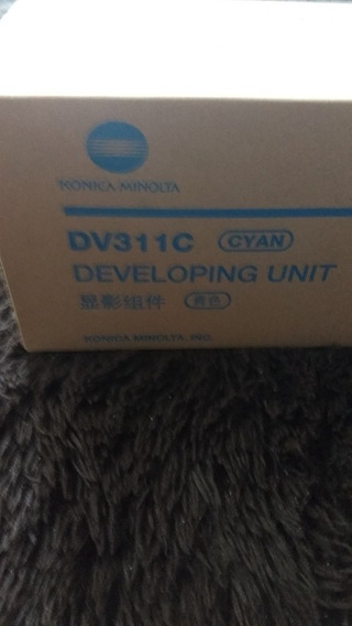 Unidade De Revelação Cyan Dv-311 Konica Minolta C220/280/360