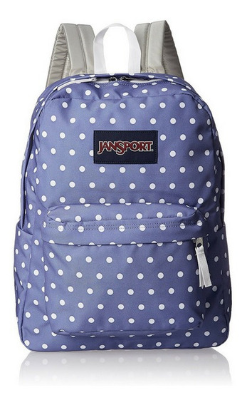 Mochila Jansport Superbreak Original White Dot