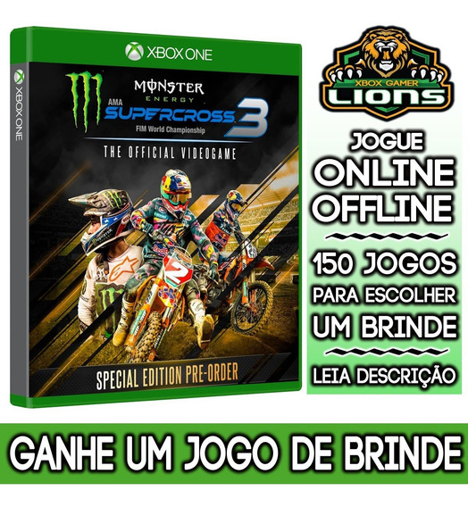 Monster Energy Supercross 3 Special Edition Xbox One