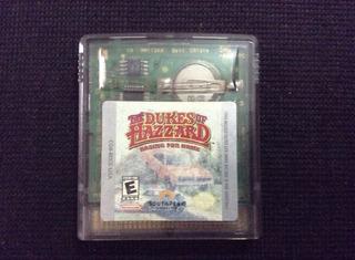 Dukes Of Hazard P/gbc - Gameboy Color - Game Boy Color.