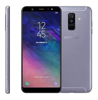 Smartphone Samsung Galaxy A6+ 64 Gb 6.0 Android 9.0 Prata