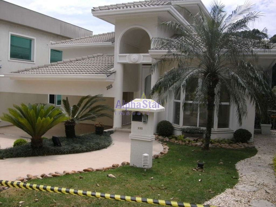 Casa Com 4 Suítes À Venda, 500 M² Por R$ 3.400.000 - Alphaville Conde Ii - Barueri/sp - Ca1377