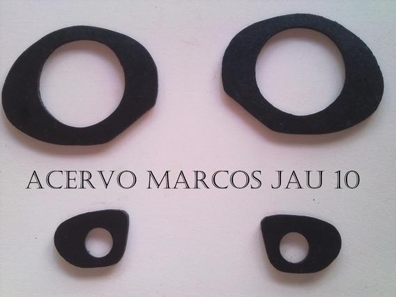 Calco Borracha Macaneta Opala E Caravan 70 - 84 4 Pecas