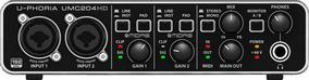 Interface De Áudio Behringer U-phoria Umc204hd - Ac0998