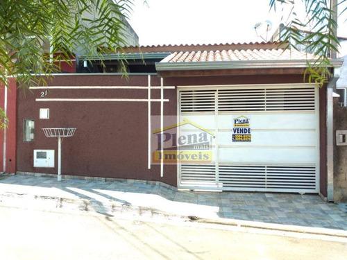 Casa Com 2 Dormitórios À Venda, 66 M² - Jardim Nova Europa - Hortolândia/sp - Ca4224