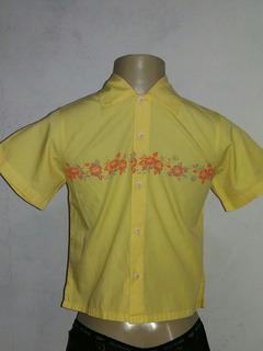 Camisa Marca Snipe By Rosalem Amarela Infantil Tam. 6 Rf